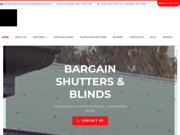 bargainshuttersandblinds.com.au